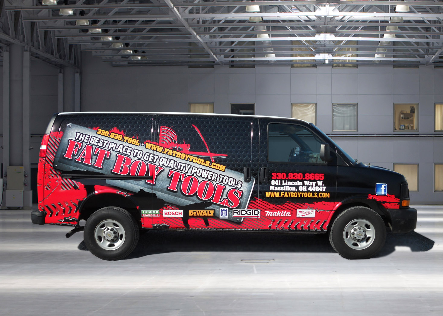 FatBoy Tools - Vehicle Wrap - Lehman Design