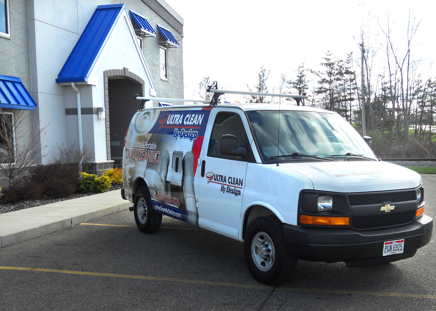 UltraClean Vehicle Wrap - Lehman Design
