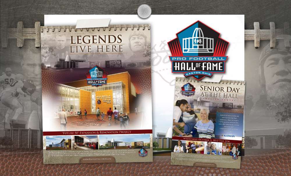 Pro Football Hall of Fame Marketing and Advertising