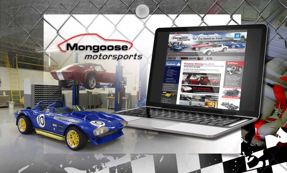 Mongoose Motorsports Website Design and Marketing