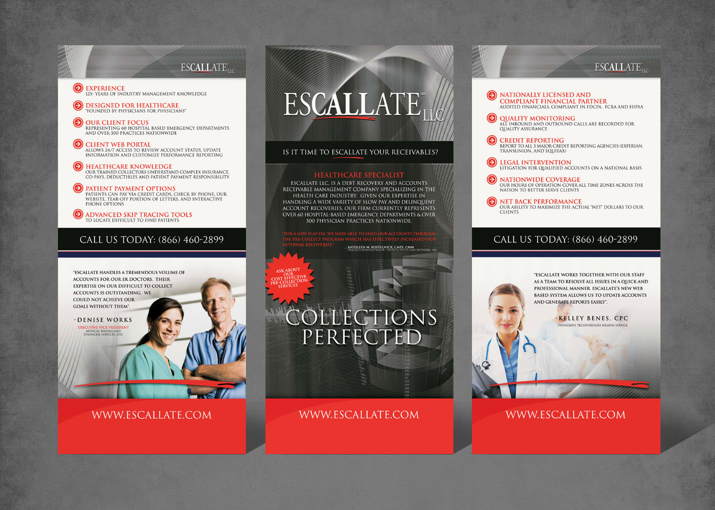 Escallate Tradeshow Booth Design - Lehman Design