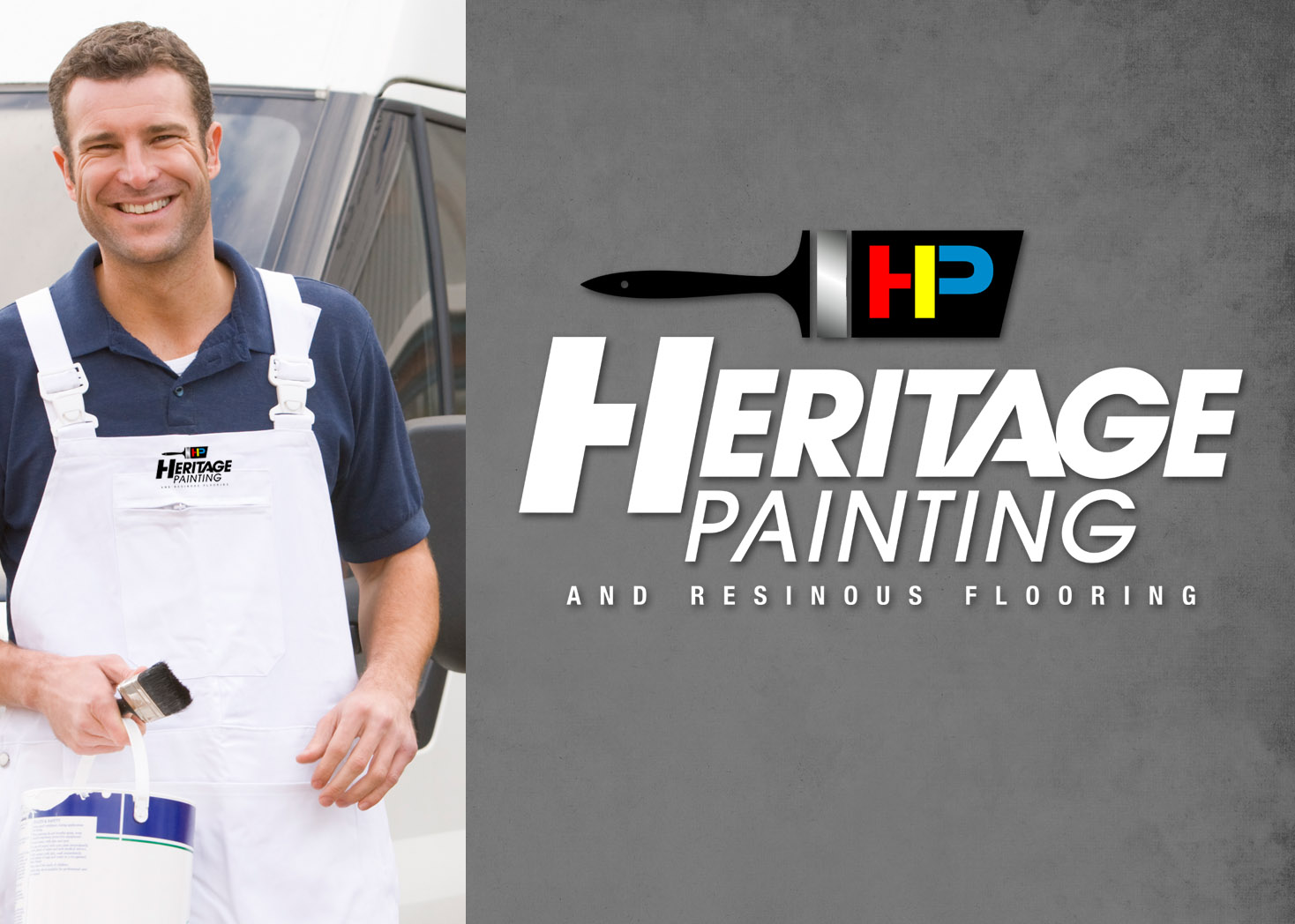 Heritage Painting Responsive Website Design - Lehman Design