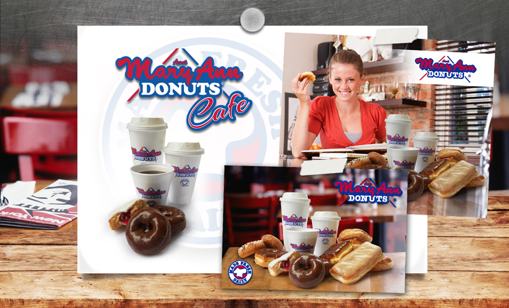 MaryAnn Donuts Brand Development, Website Design and Marketing