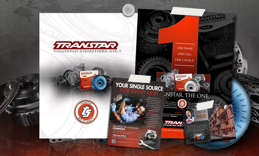 Transtar Industries Advertising Design and Branding