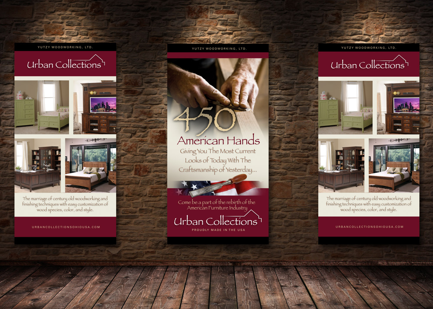Urban Collections of Ohio - Retail Signage Design - Les Lehman