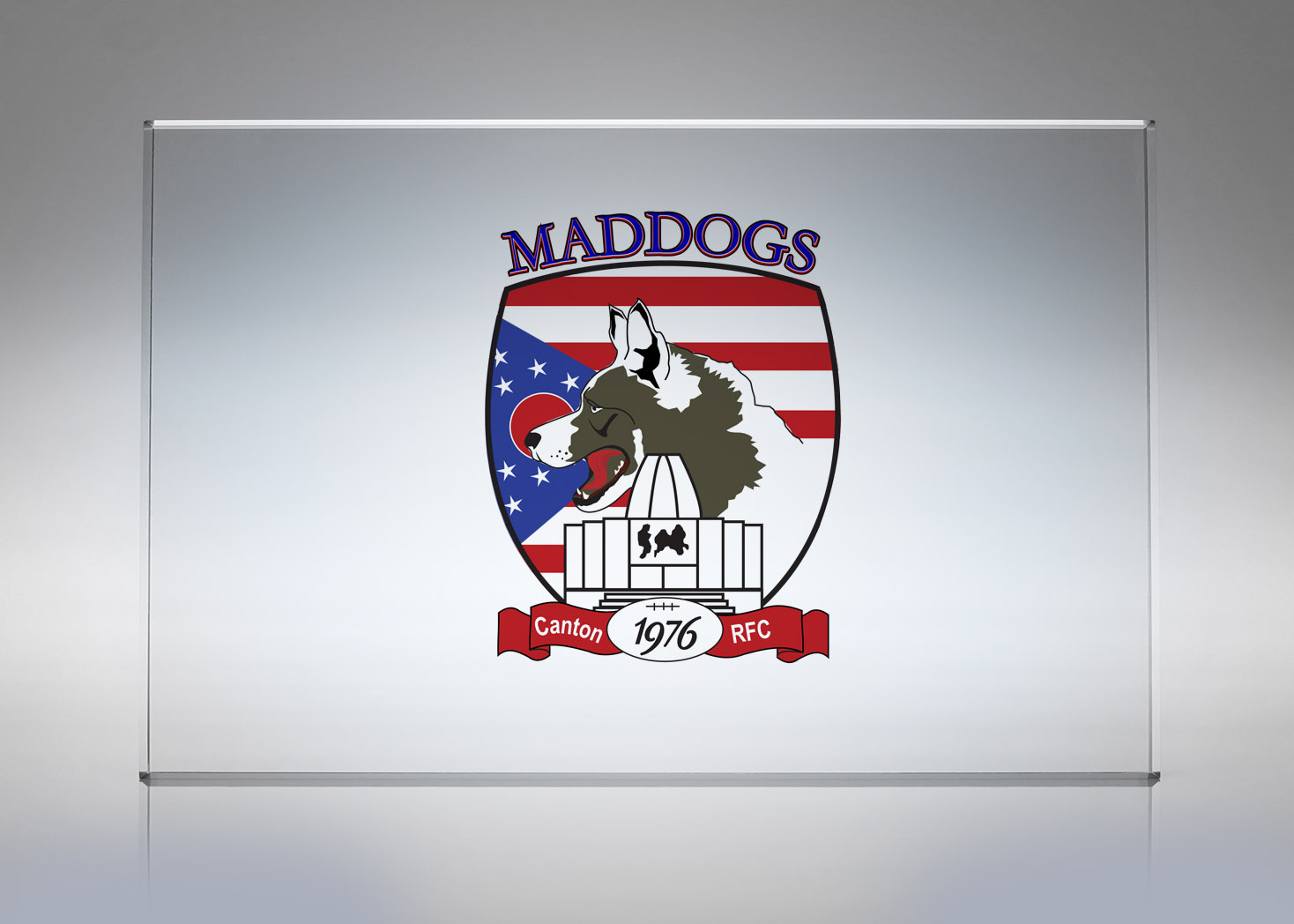 Canton Mad Dogs Rugby - Logo Design - Lehman Design