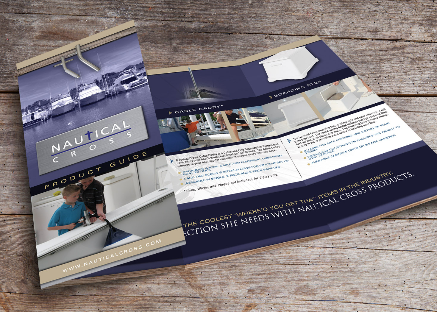 Nautical Cross - Brochure Design - Lehman Design