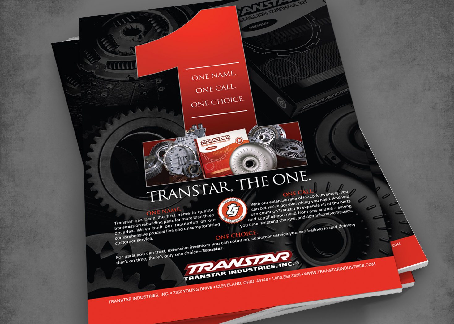 Transtar - The One - Magazine Ad Design - Les Lehman Design
