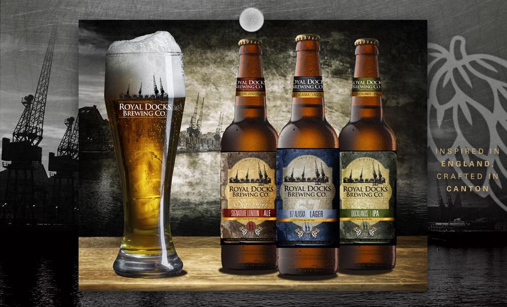 Royal Docks Brewing Company - Branding - Lehman Design